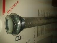 Anodová elektroda bez propojovacího vodiče