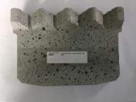 Tvarovka OV2, keramická vložka zadní